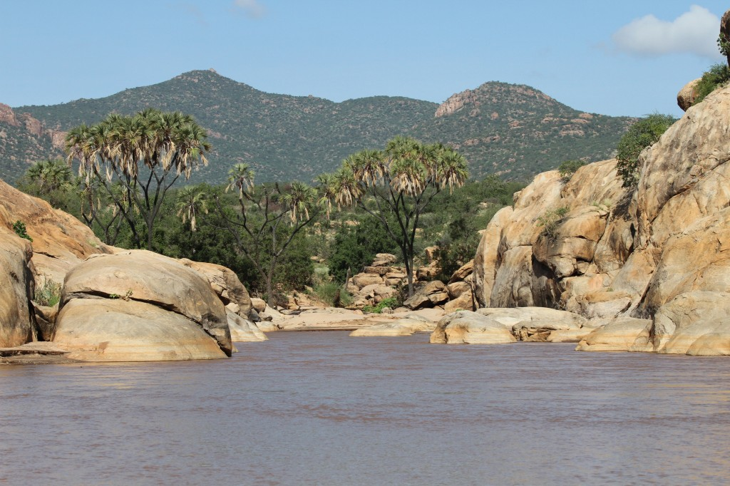 The Ewaso Ngiro River in Shaba National Reserve, Kenya