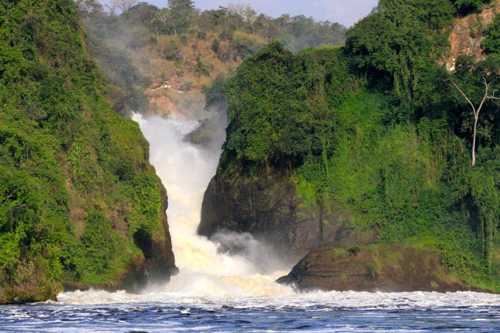 The bottom of Murchison Falls
